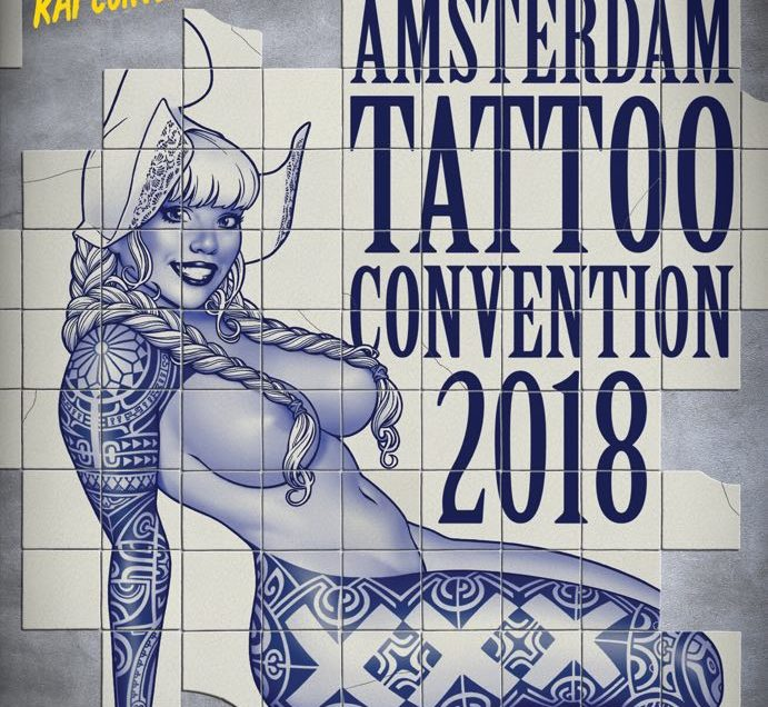 Come see me at the Amsterdam Tattoo Convention