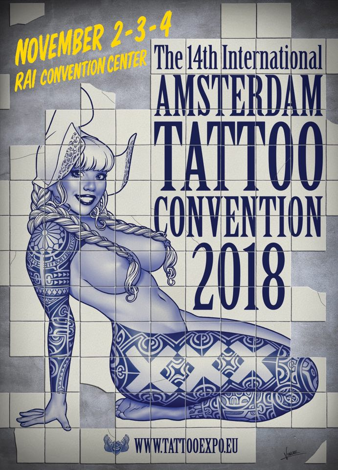 Amsterdam Tattoo Convention 2018